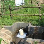 The Water Project: Mukhuyu Community, Chisombe Spring -  Spring With Grass Grown In