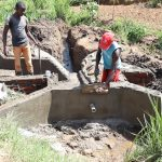 The Water Project: Mukhuyu Community, Chisombe Spring -  Inside Plaster Works