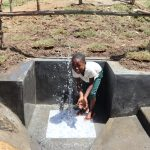 The Water Project: Mukhuyu Community, Chisombe Spring -  Water Joy
