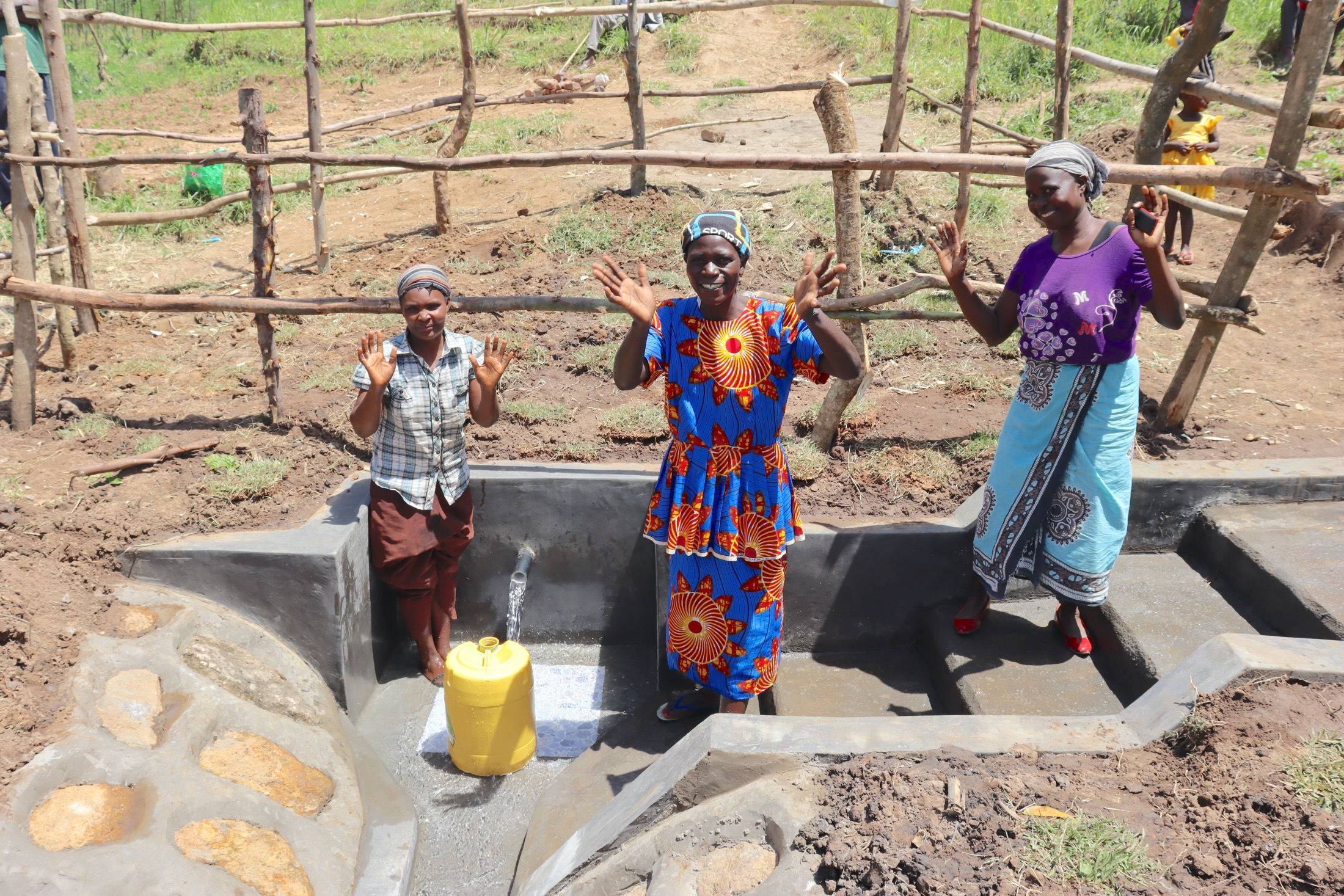 The Water Project : kenya20180-women-celebrate-water-1