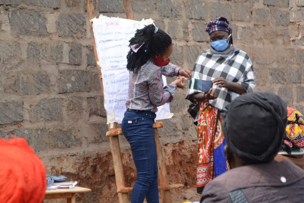 The Water Project : kenya4302-covid19-demonstration