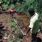 The Water Project: Harambee Community, Elijah Kwalanda Spring -  Site Measurements