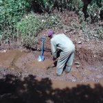 The Water Project: Harambee Community, Elijah Kwalanda Spring -  Excavation