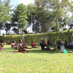 The Water Project: Harambee Community, Elijah Kwalanda Spring -  Handwashing Demonstration