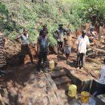 The Water Project: Harambee Community, Elijah Kwalanda Spring -  Onsite Training