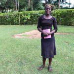 The Water Project: Harambee Community, Elijah Kwalanda Spring -  Secretary Knight Mutoro