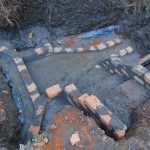The Water Project: Harambee Community, Elijah Kwalanda Spring -  Skeleton Structure Of The Spring