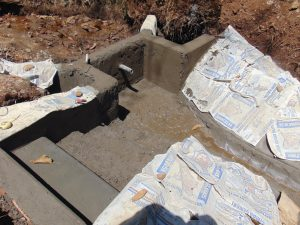 The Water Project:  Plastered Walls