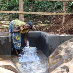 The Water Project: Harambee Community, Elijah Kwalanda Spring -  Celebrating Water