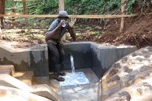The Water Project:  Chair Keri Takes A Fresh Drink