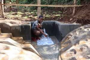The Water Project:  Venezer Smilling For Water