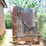 The Water Project: Mukhweso Community, Shemema Spring -  Bathing Shelter
