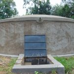 The Water Project: Boyani Primary School -  Water Flows At Boyani Primary Rain Tank