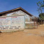 The Water Project: Ivakale Primary School & Community - Rain Tank 2 -  Entrance To School