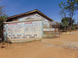 The Water Project:  Entrance To School