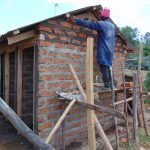 The Water Project: Malinda Secondary School -  Latrine Construction