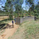 The Water Project: Ivakale Primary School & Community - Rain Tank 2 -  Boys Urinal