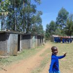 The Water Project: Ivakale Primary School & Community - Rain Tank 2 -  Walking To The Latrines