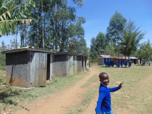 The Water Project:  Walking To The Latrines