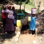 The Water Project: Ivakale Primary School & Community - Rain Tank 2 -  Ready To Walk Back To School