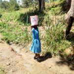 The Water Project: Ivakale Primary School & Community - Rain Tank 2 -  On The Walk Back To School