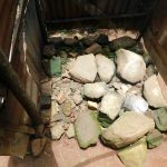 The Water Project: Mukhweso Community, Shemema Spring -  Stone Floor Of The Bathing Shelter