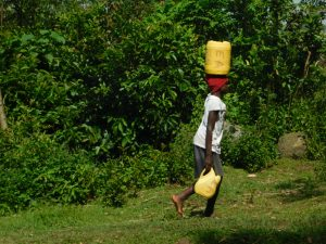The Water Project:  Taking Water Home From Ashuma Spring