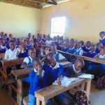 The Water Project: Ivakale Primary School & Community - Rain Tank 2 -  Pupils In Class