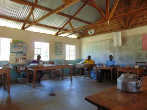 The Water Project:  Teachers At Work In The Staff Room