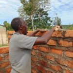 The Water Project: Malinda Secondary School -  Latrine Brickwork