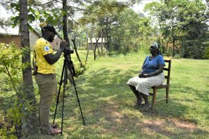 The Water Project:  Camera Operator Allan Amadaro Talks With Margret