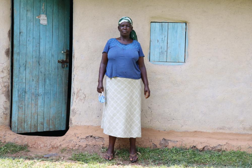 The Water Project : covid19-kenya18089-margaret-masitza