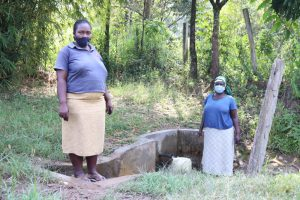 The Water Project:  Margaret With A Community Member At The Spring