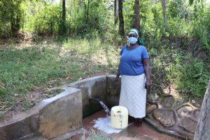 The Water Project:  Margaret At The Water Point