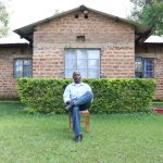 The Water Project: Emachembe Community, Hosea Spring -  A Mans Home Is His Heart