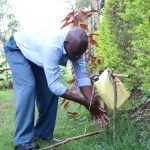 The Water Project: Emachembe Community, Hosea Spring -  Henry Handwashing At Home