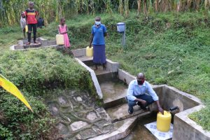 The Water Project:  Social Distancing At Hosea Spring