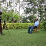 The Water Project: Emachembe Community, Hosea Spring -  Interview In Progress With Henry Anzofu