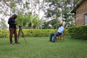 The Water Project:  Interview In Progress With Henry Anzofu
