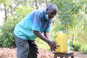 The Water Project:  Gerald Handwashing