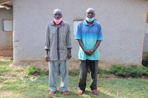 The Water Project:  Gerald With His Twin Brother Patrick Inzuka