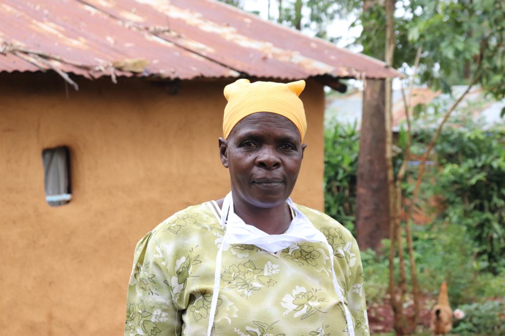 The Water Project : covid19-kenya19132-portrait-of-beatrice-muyonga