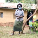 The Water Project: Hirumbi Community, Khalembi Spring -  Alice Mwenyesi