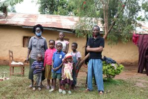 The Water Project:  Alice With Her Family
