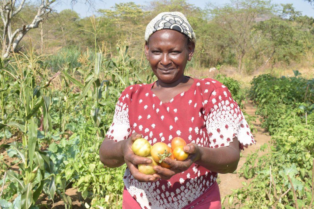 The Water Project : covid19-kenya19210-katethya-mutheki-garden-4
