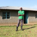 The Water Project: Mahira Community, Kusimba Spring -  Joshua Kusimba Outside His Home