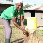 The Water Project: Mahira Community, Kusimba Spring -  Joshua Handwashing At Home