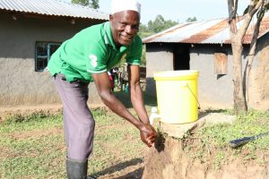 The Water Project:  Joshua Handwashing At Home