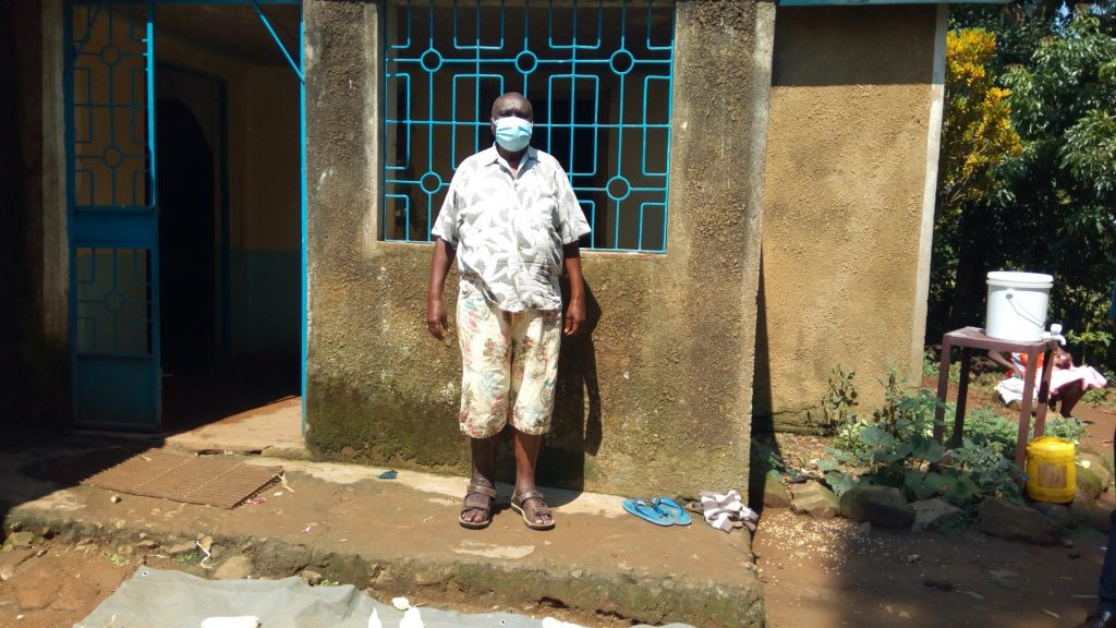 The Water Project : covid19-kenya4151-odundo-james-wearing-a-face-mask