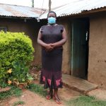The Water Project: Shitaho Community B, Isaac Spring -  Rosemary Makanji Outside Her Home